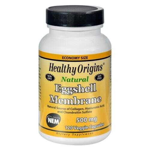 Healthy Origins Eggshell Membrane - 500 mg - 120 Vegetarian Capsules