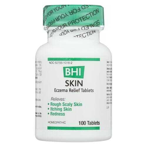 BHI - Skin Eczema Relief - 100 Tablets