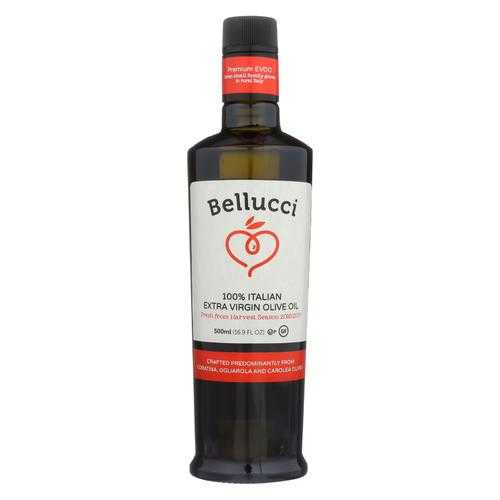Bellucci Premium Olive Oil - Extra Virgin - Case of 6 - 500 Ml