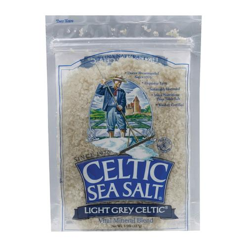 Celtic Sea Salt Light Grey - Case of 6 - 0.5 Lb.