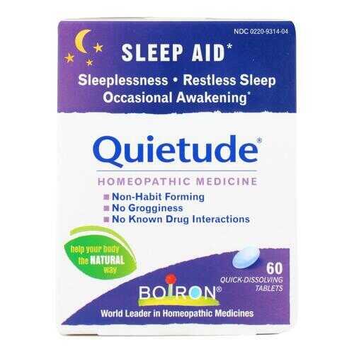 Boiron Quietude Tablets - Restless Sleep - 60 Tablets