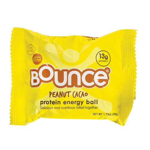 Bounce Energy Balls - Peanut Cacao - Case of 12 - 1.73 oz.