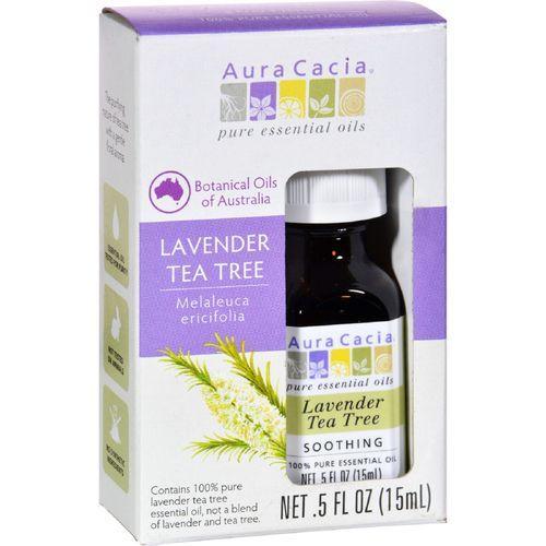 Aura Cacia Essential Oil - Pure - Lavender Tea Tree - .5 fl oz