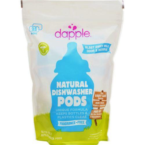 Dapple Dishwasher Pods - Automatic - Fragrance Free - 25 Count