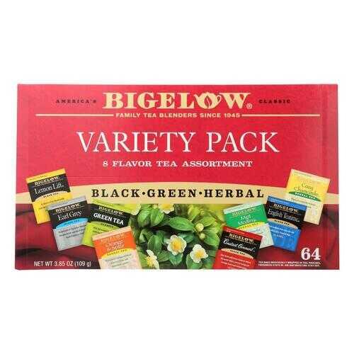 Bigelow Tea - Tea Variety Pack - Case of 6 - 64 CT