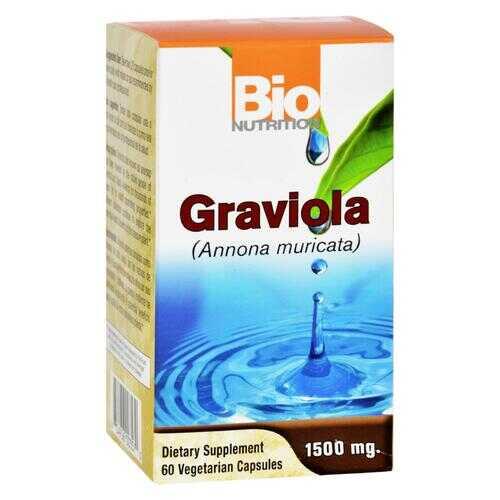 Bio Nutrition - Inc Graviola - 60 Vegetarian Capsules