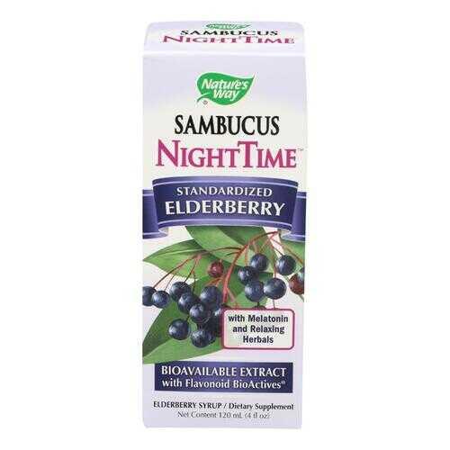 Nature's Way Sambucus - NightTime - 4 oz