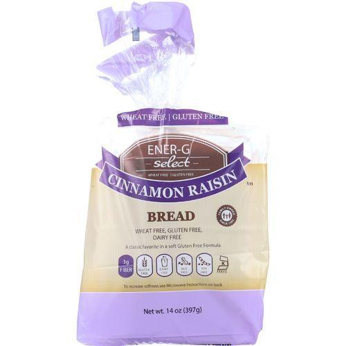 Ener-G Foods Bread - Select - Cinnamon Raisin - 14 oz - case of 6