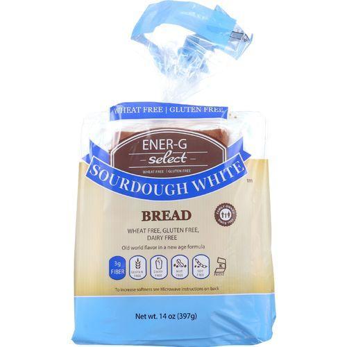 Ener-G Foods Bread - Select - Sourdough White - 14 oz - case of 6