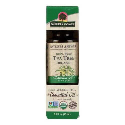 Nature's Answer - Organic Essential Oil - Tea Tree - 0.5 oz.