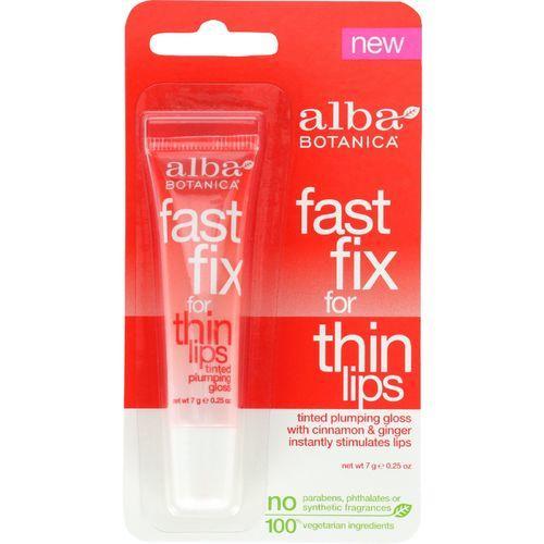 Alba Botanica Fast Fix For Thin Lips - .25 oz - case of 6