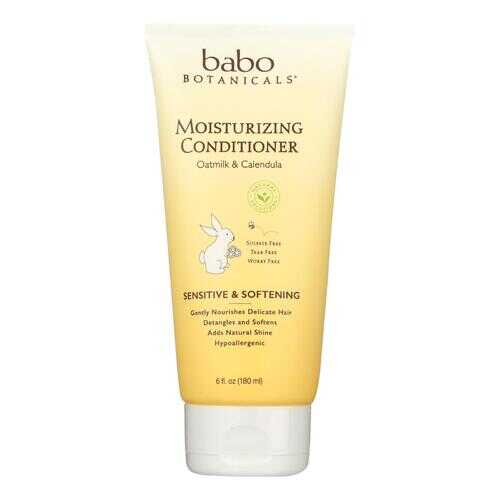 Babo Botanicals Conditioner - Moisturizing - Oatmilk - 6 oz
