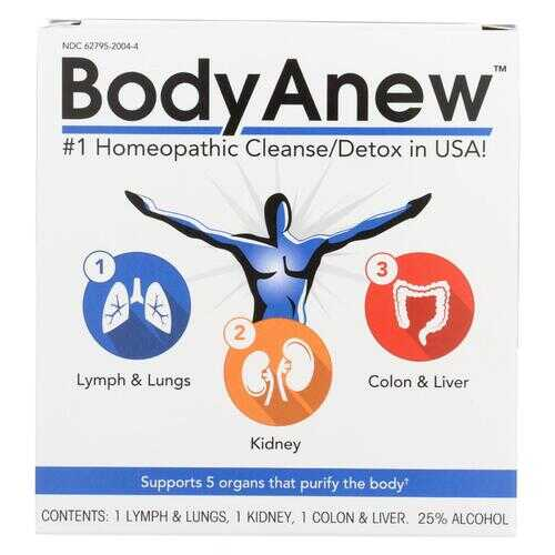 BodyAnew - Cleanse - Multipack Oral Drops - 50 ml - 3 Count