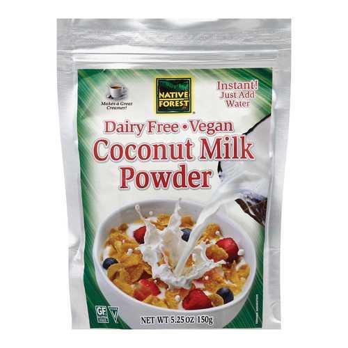 Native Forest Vegan Milk Powder - Coconut - Case of 6 - 5.25 oz.