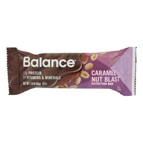 Balance Bar - Gold - Caramel Nut Blast - 1.76 oz - Case of 6
