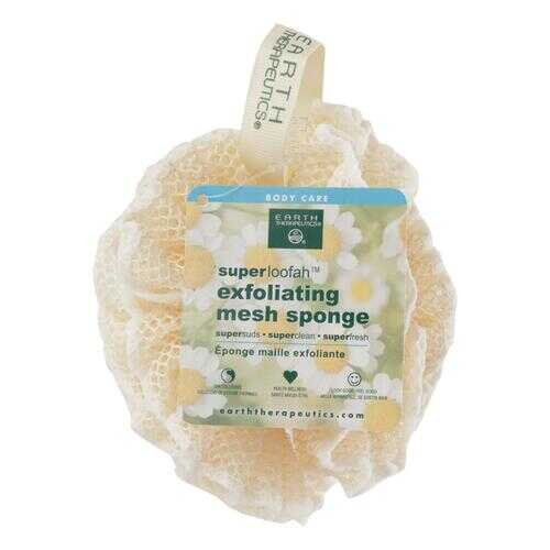 Earth Therapeutics Loofah - Super - Exfoliating - Mesh Sponge - 1 Count