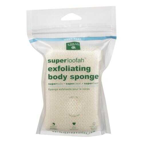 Earth Therapeutics Loofah - Super - Exfoliating - Body Sponge - 1 Count