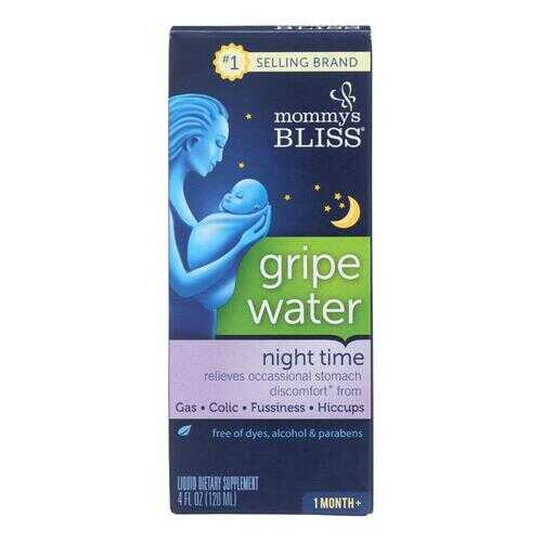 Mommys Bliss Gripe Water - Night Time - 4 oz