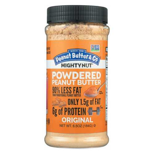 Peanut Butter and Co Peanut Butter - Original Mighty Nut Powdered - Case of 6 - 6.5 oz.