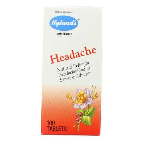 Hylands Homeopathic Headache - 100 Tablets