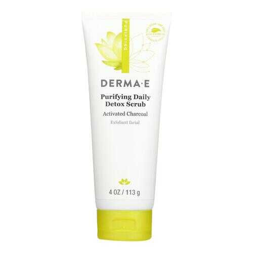 Derma E - Scrub - Purifying Daily Detox - 4 oz.