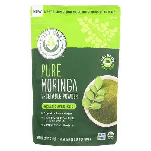 Kuli Kuli Pure Moringa Vegetable Powder - 7.4 oz.
