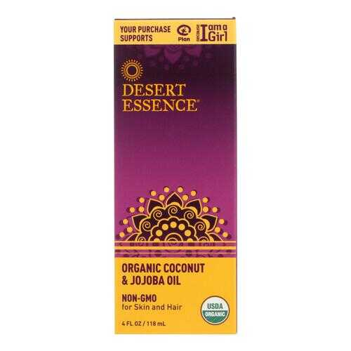 Desert Essence - Coconut and Jojoba Oil - Organic - 4 oz