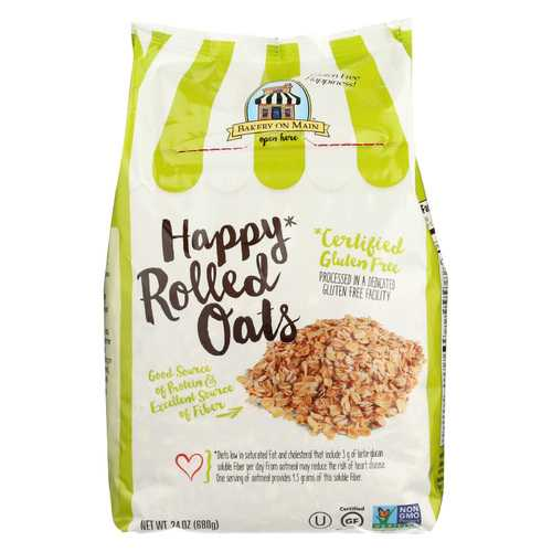 Bakery On Main Happy Rolled Oats - Case of 4 - 24 oz.