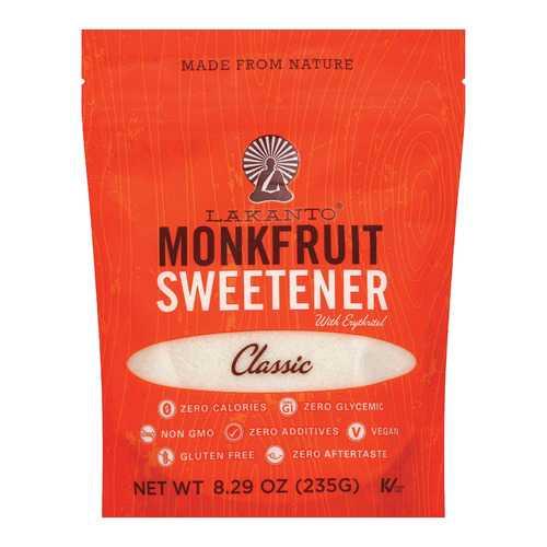 Lakanto Monkfruit Sweetener - Case of 8 - 8.29 oz.