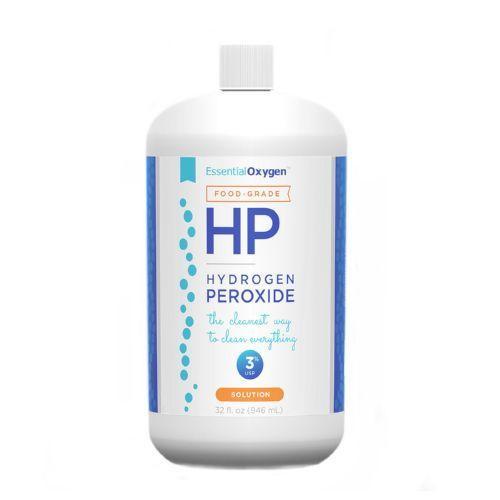Essential Oxygen Hydrogen Peroxide - Food Grade - 32 oz