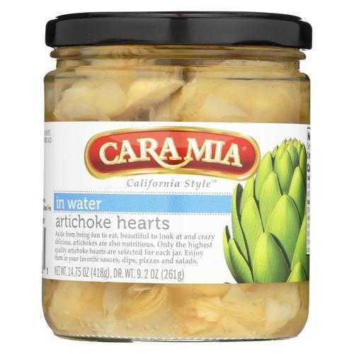 Caramia - Artichoke Hearts - in Water - Case of 12 - 14.75 oz.