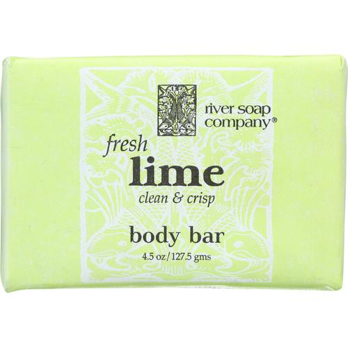River Soap Company Soap - Fresh Lime Bar - 4.5 oz.