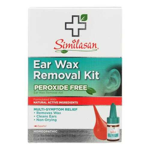 Similasan Ear Wax Relief Ear Drops and Ear Wax Removal Kit - 1 Kit