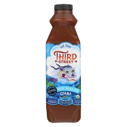 Third ST Chai - Mystic Masala Spice - Case of 6 - 32 Fl oz.