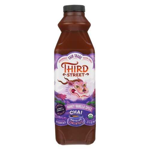 Third ST Chai - Honey Vanilla Spice - Case of 6 - 32 Fl oz.