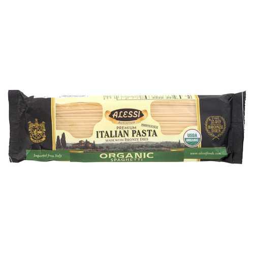 Alessi Organic Spaghetti - Bronze Dies - Case of 12 - 16 oz.