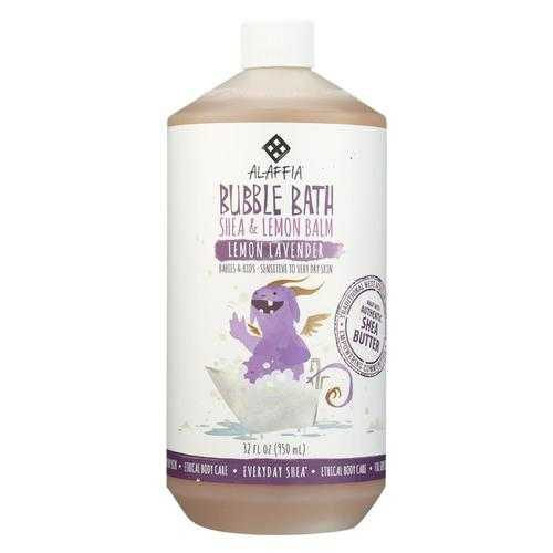 Alaffia - Everyday Bubble Bath - Lemon Lavender - 32 fl oz.