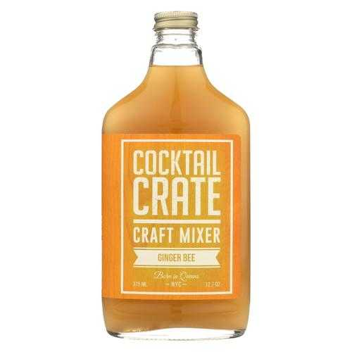 Cocktail Crate Cocktail Mixer - Ginger Bee - Case of 6 - 12.7 fl oz.