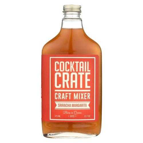 Cocktail Crate Cocktail Mixer - Sriracha Margarita - Case of 6 - 12.7 fl oz.