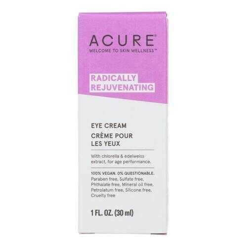 Acure - Eye Cream - Chlorella and Edelweiss Stem Cell - 1 FL oz.