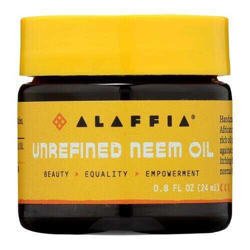 Alaffia - Neem Oil - Unrefined - .8 fl oz.
