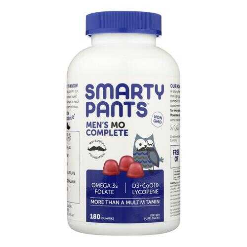 SmartyPants Men's Complete - 180 count