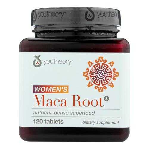 Youtheory Dietary Supplement Women's Maca Root Advanced  - 1 Each - 120 TAB