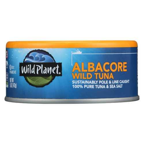 Wild Planet Wild Tuna - Albacore - 5 oz