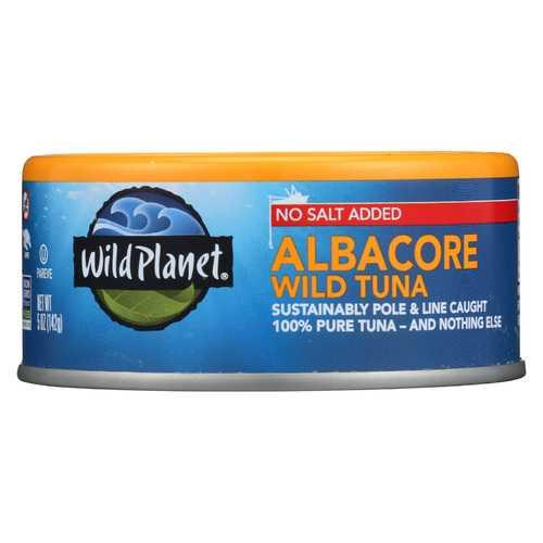Wild Planet Wild Tuna - Albacore - No Salt - 5 oz
