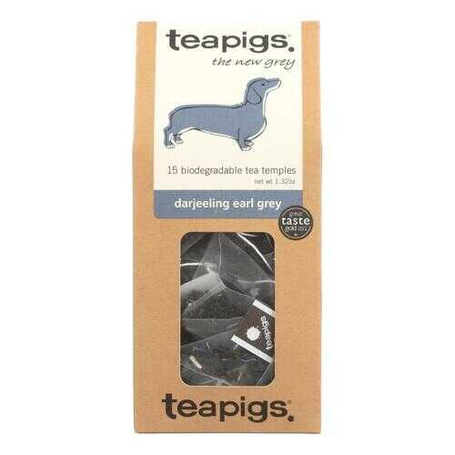 Teapigs Darjeeling Earl Grey The New Grey Tea  - Case of 6 - 15 CT