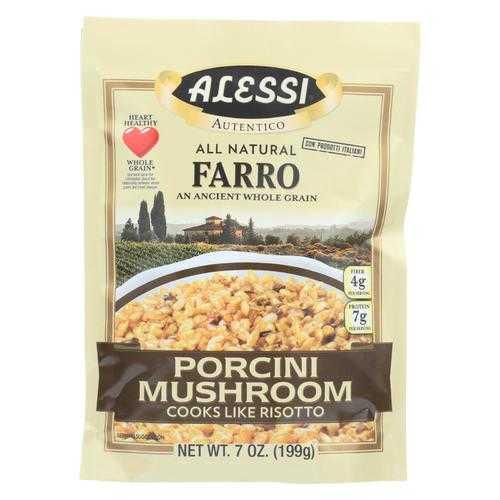 Alessi Farro Porcini Mushroom - Case Of 6 - 7 Oz