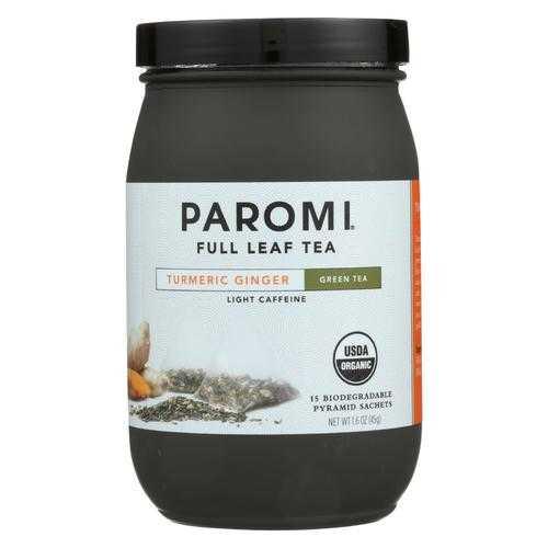 Paromi Tea - Green Tumeric Ginger - CS of 6-15 CT