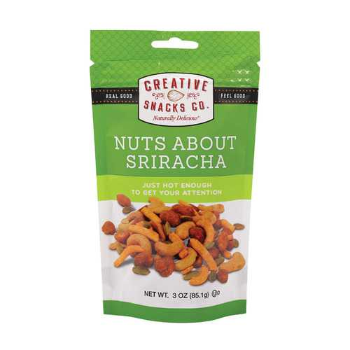 Creative Snacks Bag - Nuts About Sriracha - Case of 6 - 3 oz
