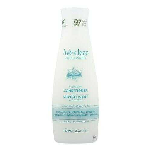 Live Clean Conditioner - Fresh Water- 12 fl oz.